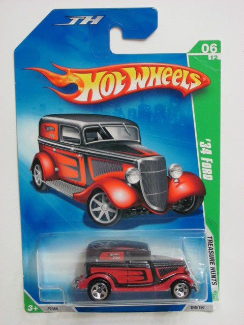 HOT WHEELS 2009 TREASURE HUNT #06/12 '34 FORD REG.