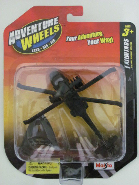 MAISTO TAILWINDS 2011 ADVENTURE UH-60A BLACK HAWK E+