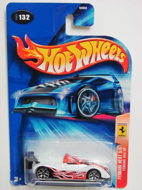 HOT WHEELS 2004 FERRARI HEAT #132 FERRARI 333 SP