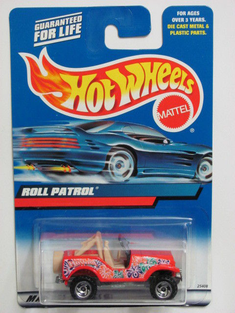 HOT WHEELS 2000 ROLL PATROL COLLECT. #199 RED
