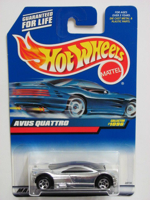 HOT WHEELS 1999 AVUS QUATTRO CHROME COLLECT. 1096