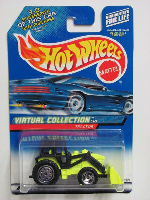 HOT WHEELS 2000 VIRTUAL COLLECTION TRACTOR #103
