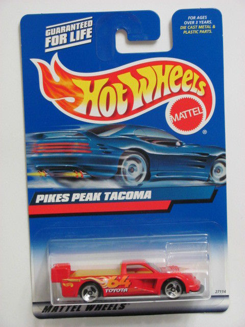 HOT WHEELS 2000 PIKES PEAK TACOMA COLLECT. #148 RED