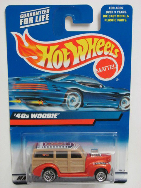 HOT WHEELS 2000 '40S WOODIE #193