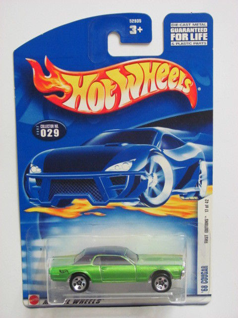HOT WHEELS 2002 FIRST EDITIONS '68 COUGAR #029
