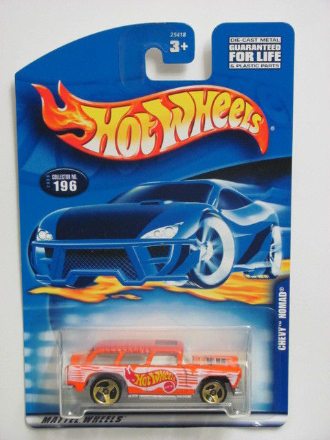HOT WHEELS 2000 CHEVY NOMAD #196 ORANGE
