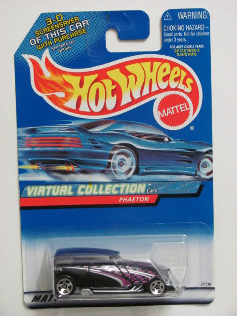 HOT WHEELS 2000 VIRTUAL COLLECTION PHAETON #164 BLACK