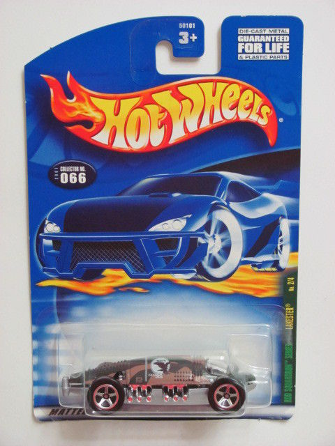 HOT WHEELS 2001 RED SQUARDRON SERIES LAKESTER COLLECTOR #066
