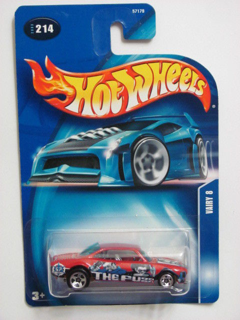 HOT WHEELS 200 RED #214 VAIRY 8