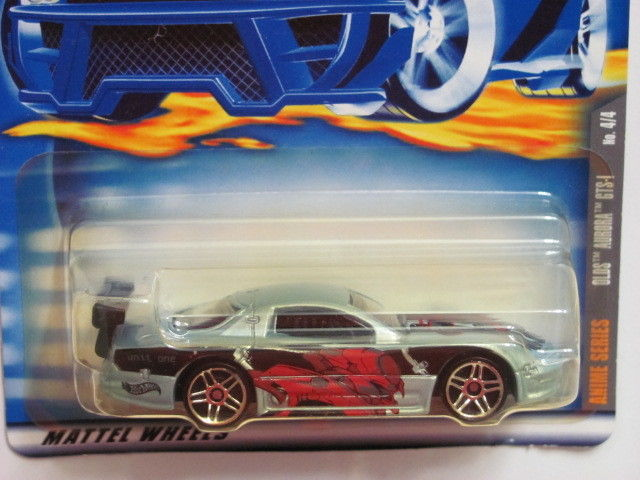 HOT WHEELS 2001 ANIME SERIES OLDS AURORA # 064 BLUE