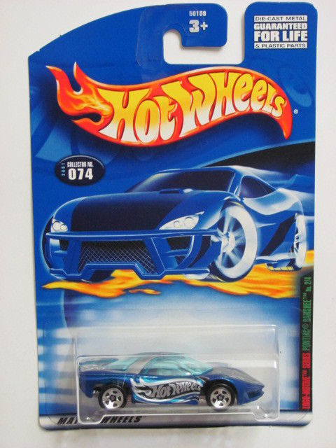HOT WHEELS 2001 LOGO-MOTIVE SERIES PONTIAC BANSHEE #074