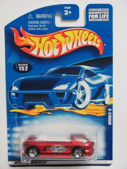 HOT WHEELS 2001 DEORA II COLLECT. #152 RED