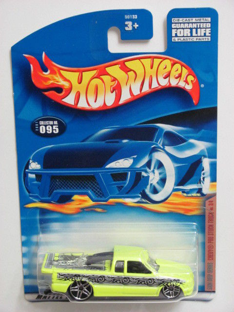 HOT WHEELS 2001 SKIN DEEP SERIES CHEVY PRO STOCK TRUCK #095
