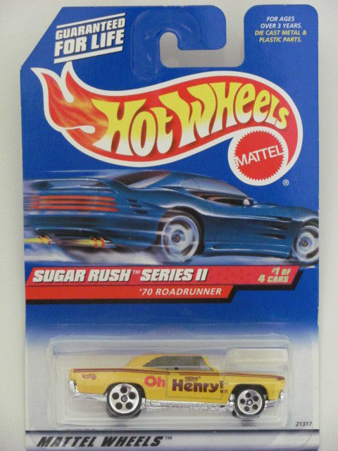 HOT WHEELS 1999 SUGAR RUSH SERIES II '70 ROADRUNNER