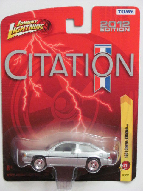 JOHNNY LIGHTNING 1981 CHEVY CITATION RL21 TOMY