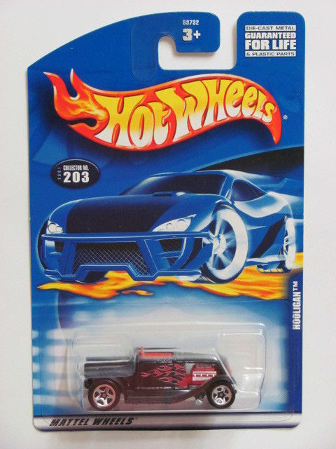 HOT WHEELS 2001 FIRST EDITIONS HOOLIGAN #203 RED