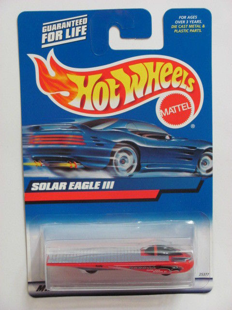 HOT WHEELS 2000 SOLAR EAGLE III COLLECTOR #176