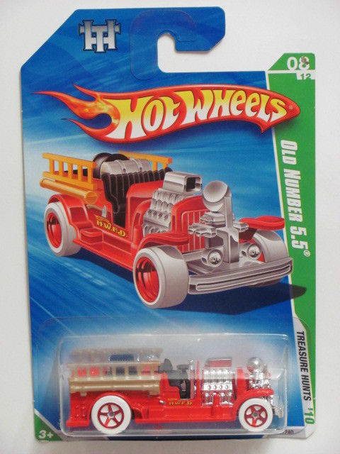 HOT WHEELS 2010 TREASURE HUNT 8/12 OLD NUMBER 5.5 REG.