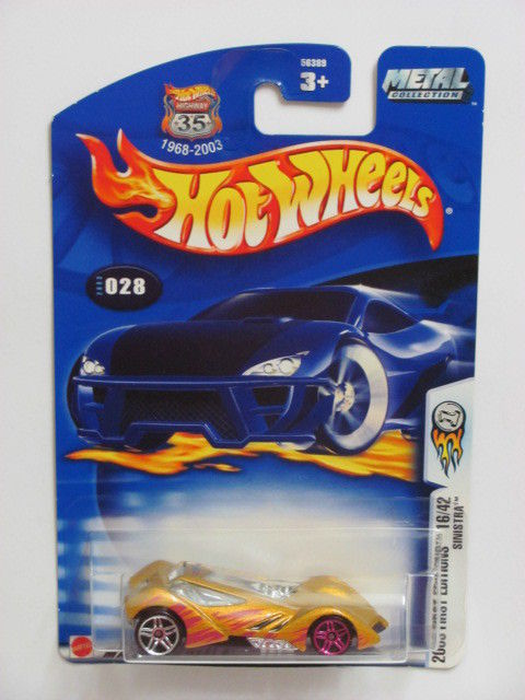 HOT WHEELS 2003 FRIST EDITIONS 16/42 SINISTRA ERROR WHEELS