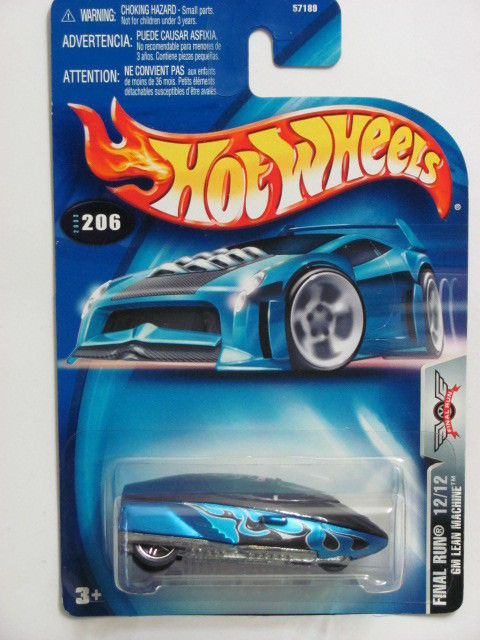 HOT WHEELS 2003 FINAL RUN GM LEAN MACHINE #206 E+