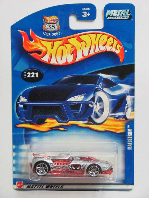HOT WHEELS 2002 MAELSTROM #221 SILVER