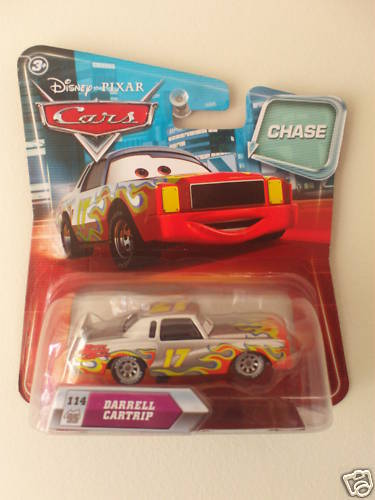 DISNEY PIXAR CARS - #114 DARRELL CARTRIP CHASE!!!