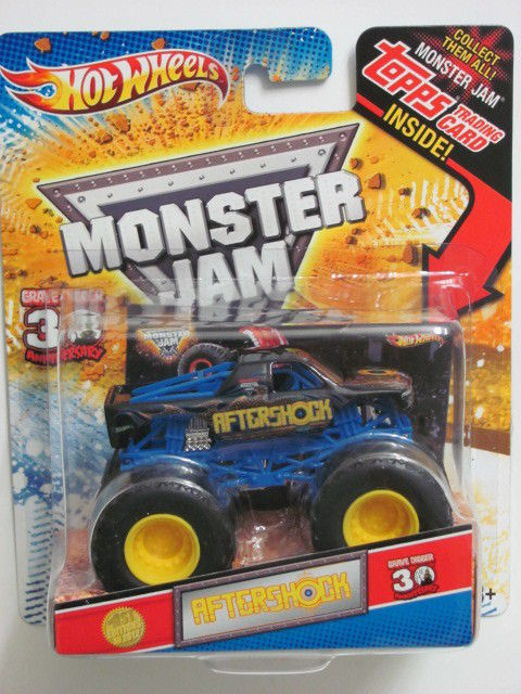 MONSTER JAM 2012 30TH ANNIVERSARY 1ST EDITIONS AFTERSHOCK