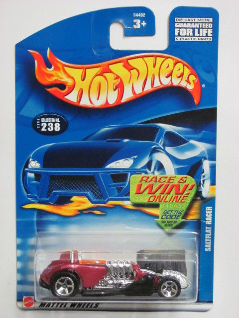 HOT WHEELS 2002 SALTFLAT RACER #238 RED