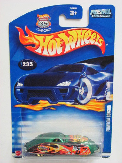 HOT WHEELS 2002 PHANTOM CORSAIR #235