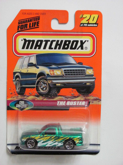 MATCHBOX 1998 #20 of 75 THE BUSTER - COOL CONCEPTS