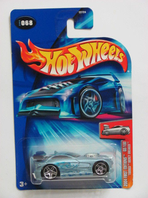 HOT WHEELS 2004 FIRST EDITIONS 68/100 TOONED MERGY BREAKER #068