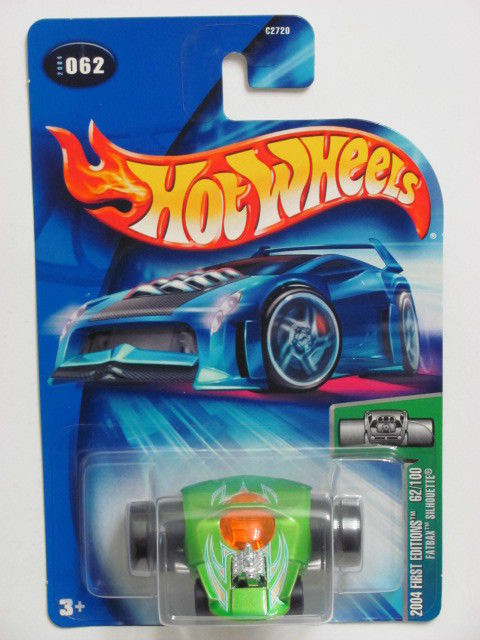HOT WHEELS 2004 FIRST EDTITIONS FATBAX SILHOUETTE #062