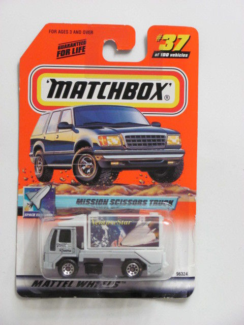 MATCHBOX 2000 #37 of 100 MISSION SCISSORS TRUCK - SPACE EXPLORER