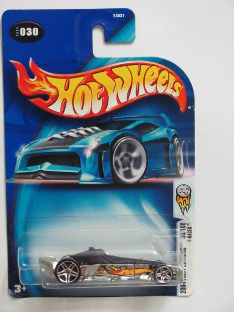 HOT WHEELS 2004 FIRST EDITIONS #030 F-RACER 30/100 CHROME BASE