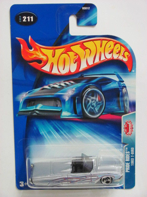 HOT WHEELS 2004 PRIDE RIDES 1963 T-BIRD #211