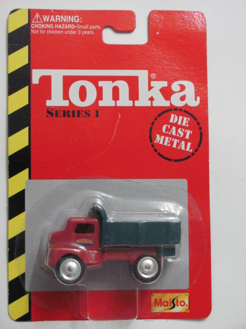 MAISTO TONKA DIE CAST METAL SERIES 1 PICKUP TRUCK RED