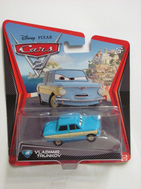 DISNEY CARS VLADIMIR TRUNKOV #28