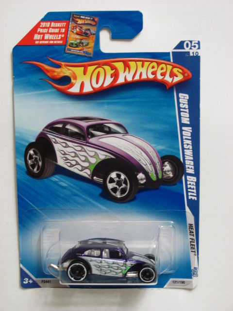 HOT WHEELS 2009 #05/10 CUSTOM VOLKSWAGEN BEETLE PURPLE
