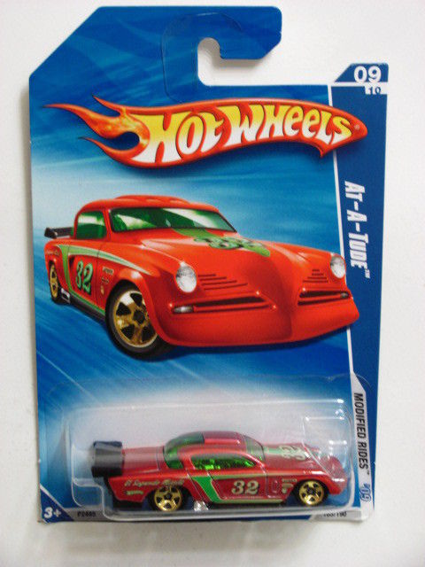 HOT WHEELS 2009 AT-A-TUDE MODIFIED RIDES #09/10