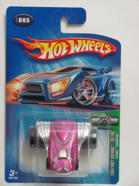 HOT WHEELS 2004 FIRST EDTITIONS FATBAX EXHAUSTED #085 PINK
