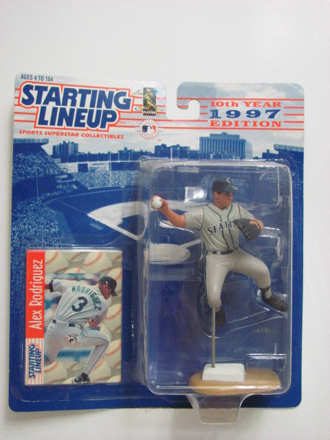 STARTING LINEUP 1997 EDITION ALEX RODRIGUEZ FIGURE AGES 4-104