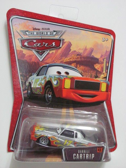 DISNEY PIXAR CARS WORLD OF CARS DESERT DARRELL CARTRIP # 43