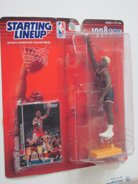 STARTING LINEUP 1998 EDITION DENNIS RODMAN FIGURE AGES 4-104