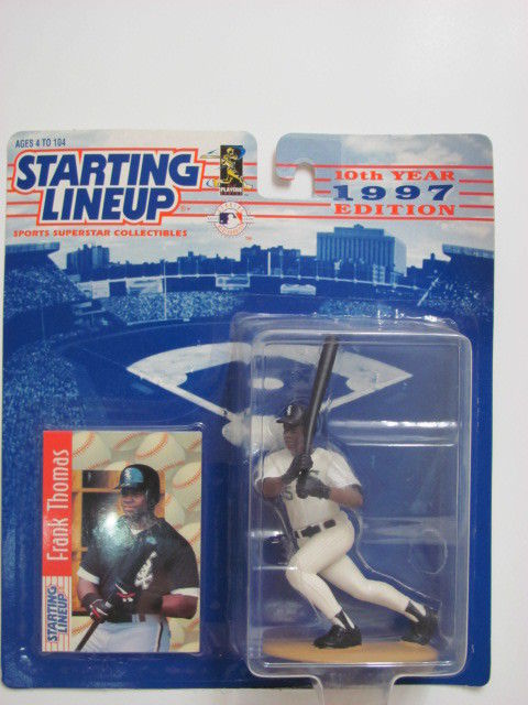 STARTING LINEUP 1996 EDITION FRANK THOMAS FIGURE AGES 4-104