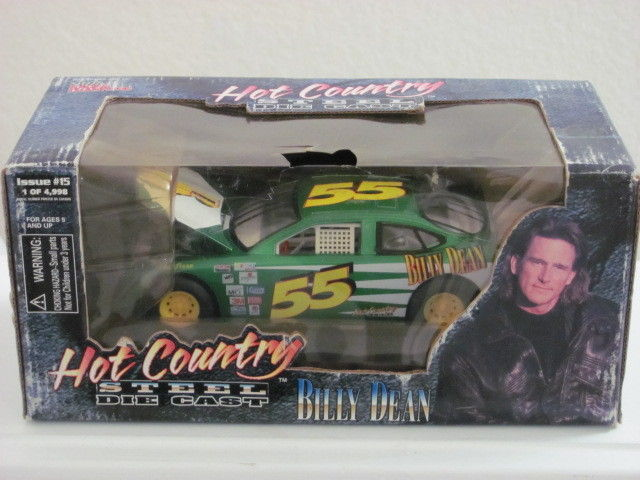 RACING CHAMPIONS 1/24 HOT COUNRTY STEEL BILLY DEAN ISSUE #15