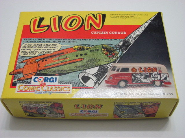 CORGI COMIC CLASSICS LION CAPTAIN CONDOR 96961