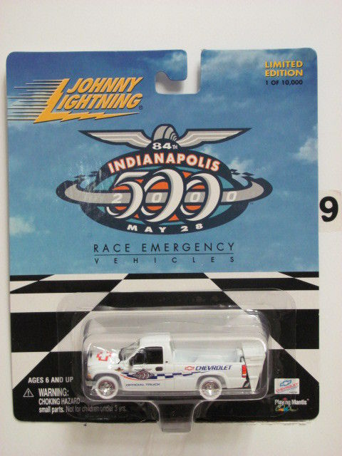 JOHNNY WHITE LIGHTNING INDIANAPOLIS 500 RACE EMERGENCY 2000 SILVERADO