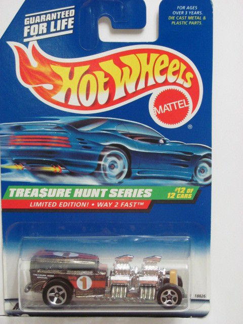 HOT WHEELS 1998 TREASURE HUNT LIMITED EDITION WAY 2 FAST