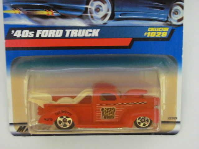 HOT WHEELS 1999 '40s FORD TRUCK PICKUP #1029 RED