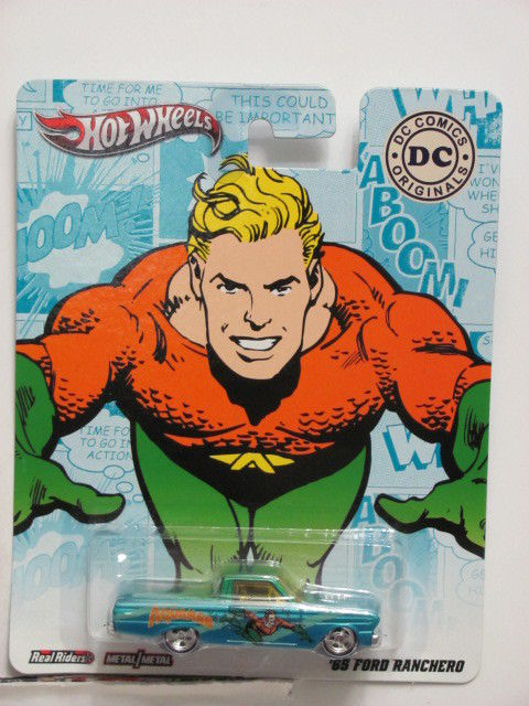 HOT WHEELS 2011 DC COMICS ORIGINALS AQUAMAN - '65 FORD RANCHERO